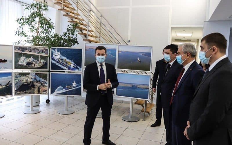 Головний офіс філії «Дельта-лоцман» ДП «АМПУ» відвідали керівники трьох областей