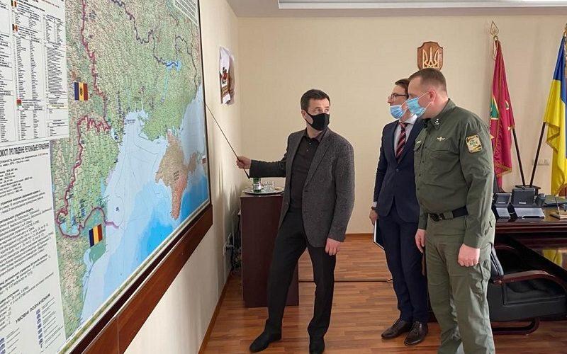 Керівництво ДП «АМПУ» та Південного регіонального управління Державної прикордонної служби провели зустріч та підтвердили готовність до подальшого розвитку співробітництва