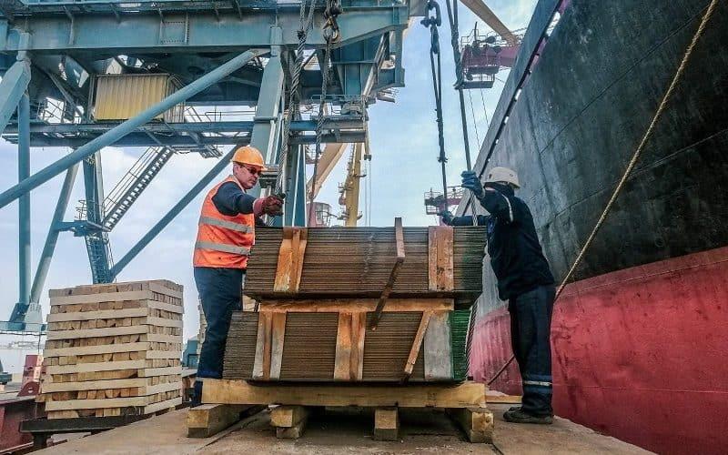 Одеський морський порт у березні наростив обсяги перевалки металопродукції на 40 %