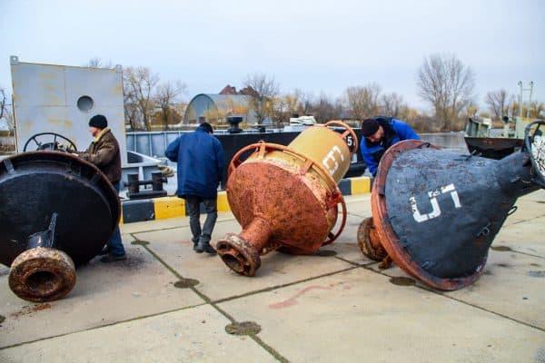 Підготовка плавучих ЗНО до нового навігаційного сезону