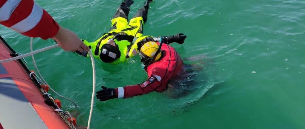 Екіпаж ПРК-05 «Морської пошуково-рятувальної служби» провів навчання з пошуку та рятування