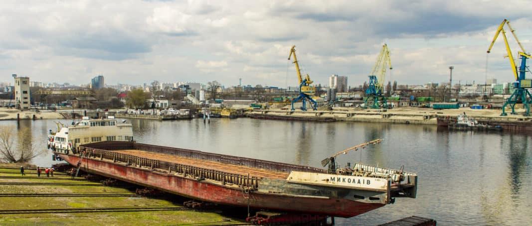 Київський ССЗ прийняв на ремонт т/х «Миколаїв»