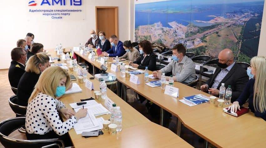 В порту «Ольвія» розпочато проведення екологічної та соціальної оцінки за участі Golder Associates і CDM Engineering