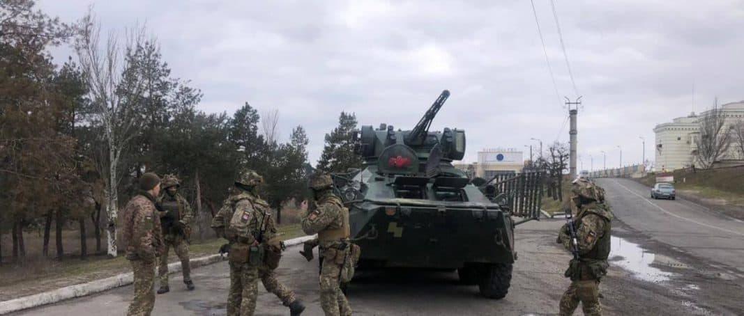 СБУ проводить масштабні антитерористичні навчання у Херсонській області