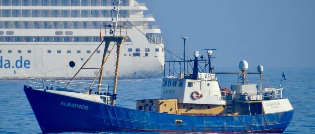 Український екіпаж судна ALBATROS GUARD VSL затримали за перевезення 18 тонн гашишу в Іспанії