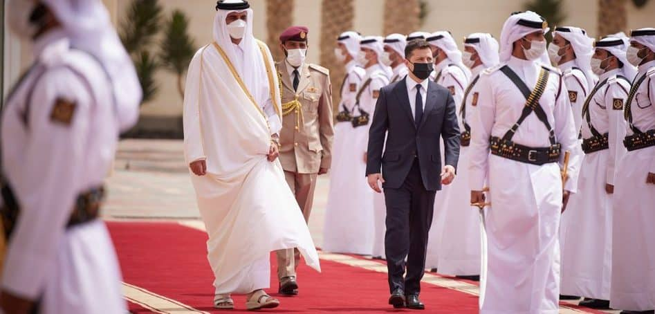 Буде підписано низку комерційно-інвестиційних домовленостей щодо розширення інвестиційної співпраці з Катаром – Зеленський