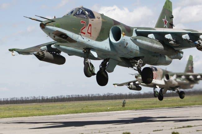 Росія направила 50 літаків Су-25 до Криму, тренувати ракетні пуски і бомбометання по морських цілях
