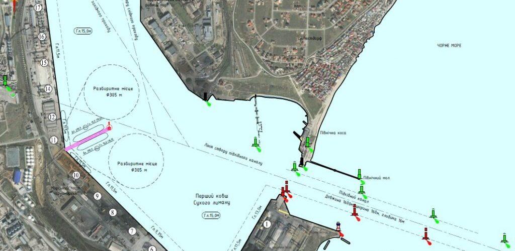(ВІДЕО) Компанія RISOIL розпочала будівництво двостороннього пірсу в порту Чорноморськ