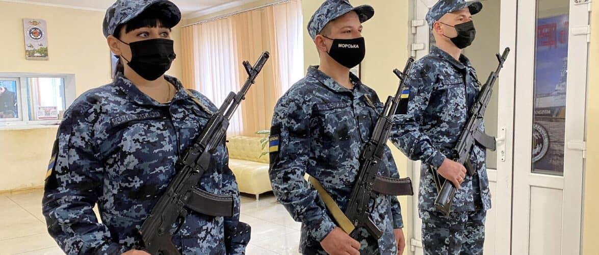 В підрозділах Морської охорони відбулися урочистості з приведення до Військової присяги молодого поповнення