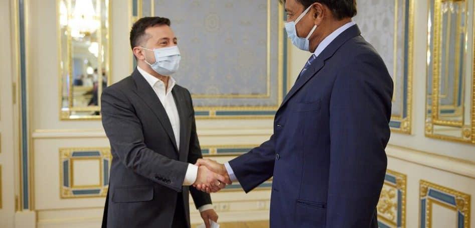 Президент та Прем'єр-міністр провели зустрічі з головою ради директорів ArcelorMittal Лакшмі Мітталом