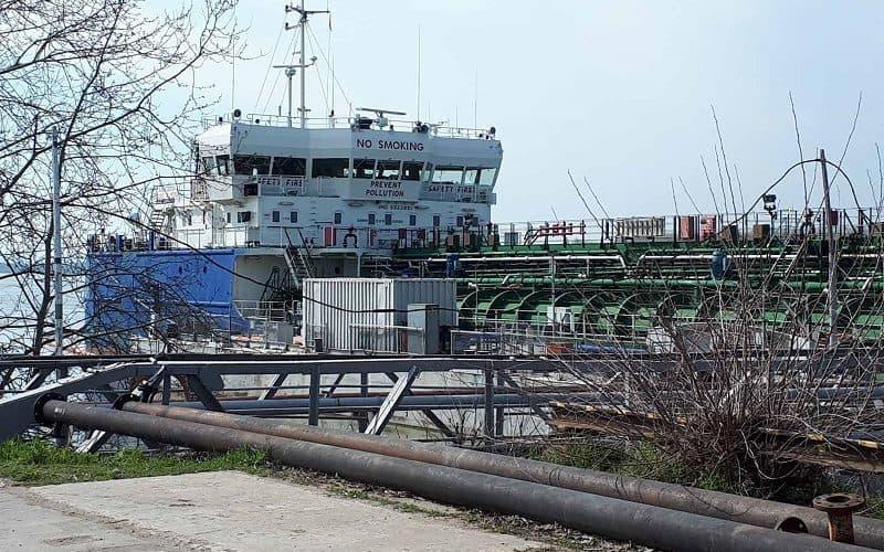 В Ренійському морському порту відновили перевантаження палива