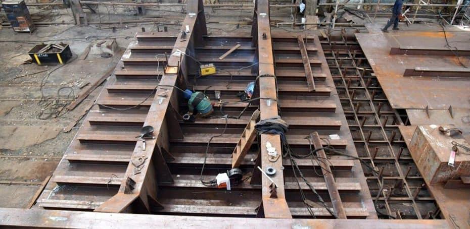 На суднобудівному заводі «Океан» розпочато роботи з ремонту сухого доку