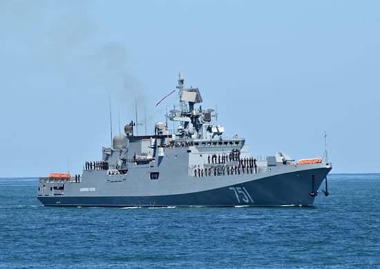 20 кораблів Чорноморського флоту відпрацювали спільні дії зі штурмовою авіацією