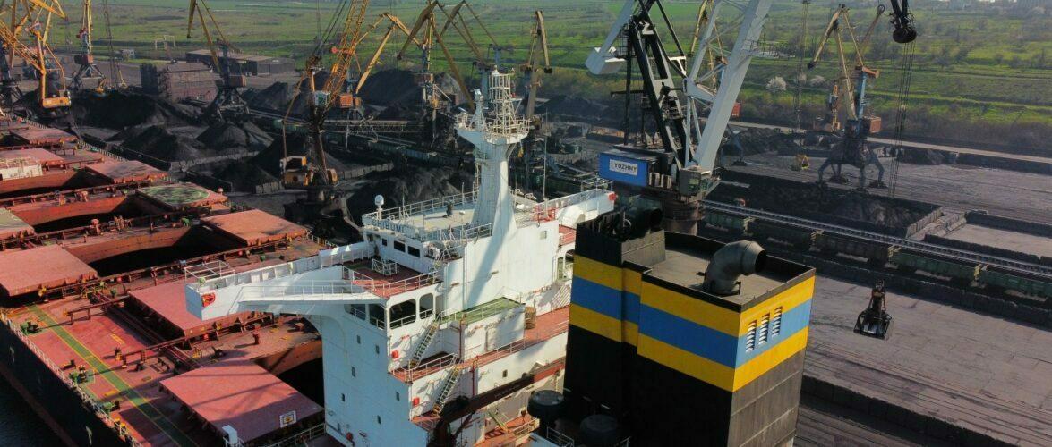 З початку року ДП «МТП «Южний» оброблено 5,5 мільйонів тонн вантажів