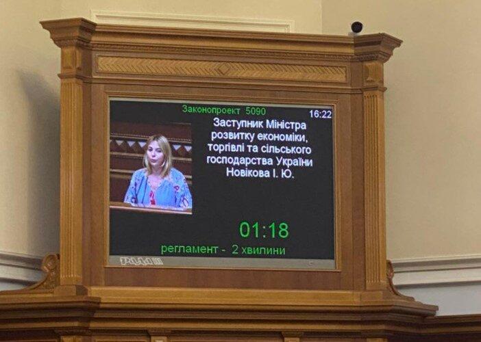 Парламент прийняв за основу законопроєкт про довгострокові зобов'язання в рамках здійснення державно-приватного партнерства