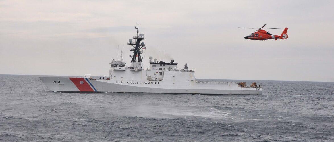 Флагман Морської охорони Держприкордонслужби зустрів корабель Берегової охорони США HAMILTON