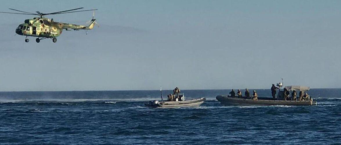 СБУ провела масштабні антитерористичні навчання в акваторії Чорного моря