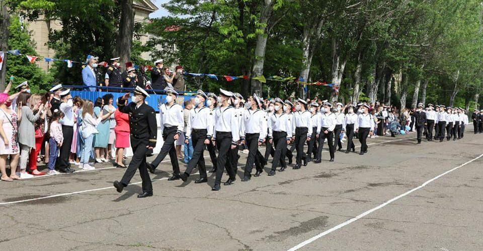 В Одесі проведено урочистий випуск вихованців Військово-морського ліцею імені віце-адмірала Володимира Безкоровайного