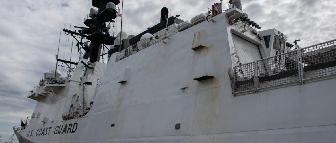ССО України провели тренування на кораблі Берегової охорони США Гамільтон