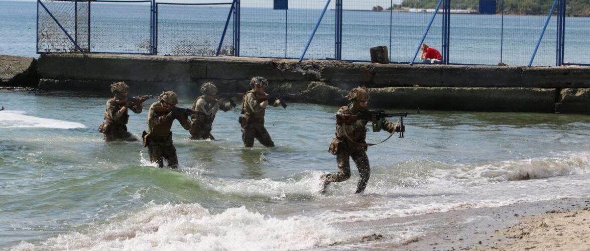 В Одесі відбулися святкові заходи, присвячені Дню морської піхоти України
