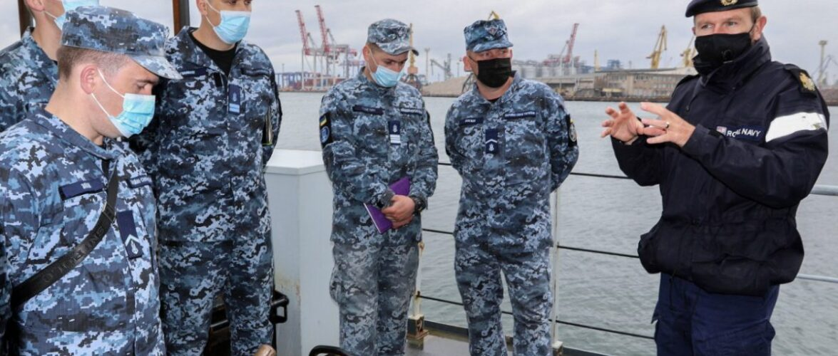 В Одесі триває спільний вишкіл українських та британських військових моряків у межах місії ORBITAL
