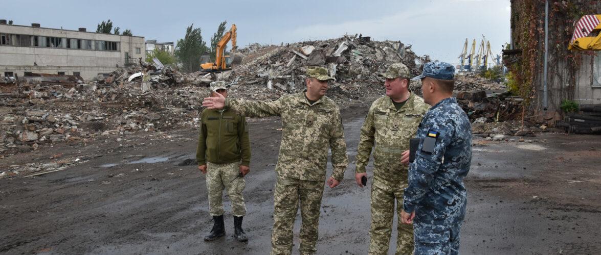 Базу ВМС у Бердянську збудує Державна спеціальна служба транспорту України