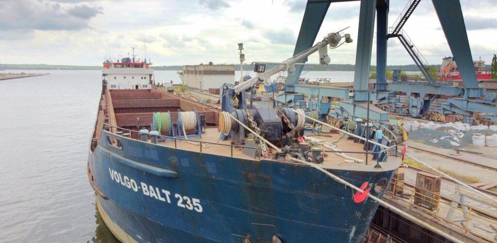 "Завод ""Океан"" прийняв на ремонт суховантажне судно «Волго-Балт 235»"