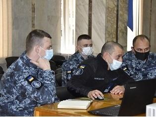 Представники Командування українських ВМС проводять консультації з іноземними партнерами