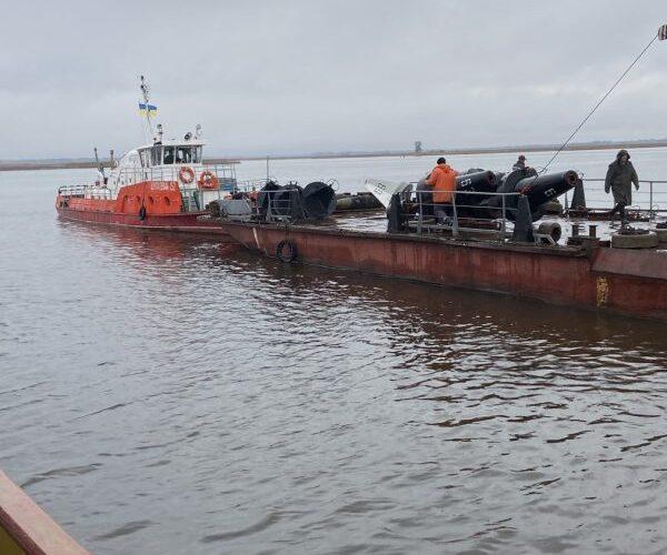 Розстановка ЗНО на внутрішніх водних шляхах завершена