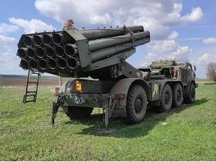 У підрозділі реактивної артилерії ВМС ЗС України проведено тренування з управління вогнем