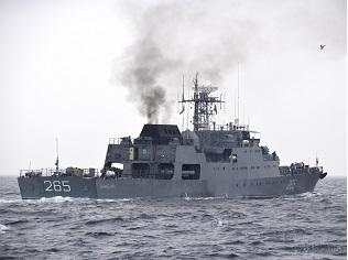 Українські ВМС провели спільні українсько-румунські тренування типу «PASSEX»