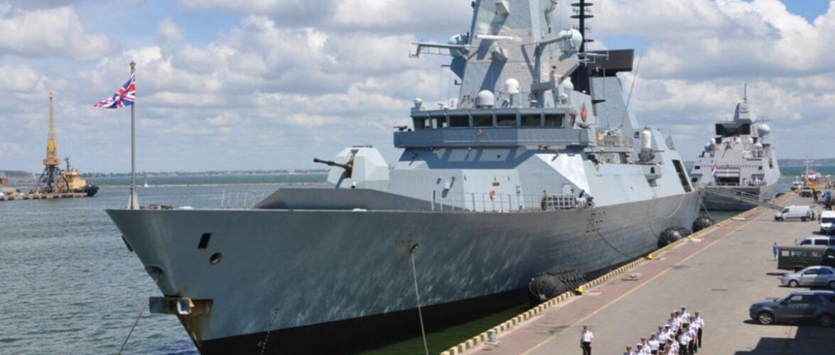 У Одеський порт зайшли британський есмінець HMS Defender та фрегат ВМС Нідерландів HNMLS Eversten