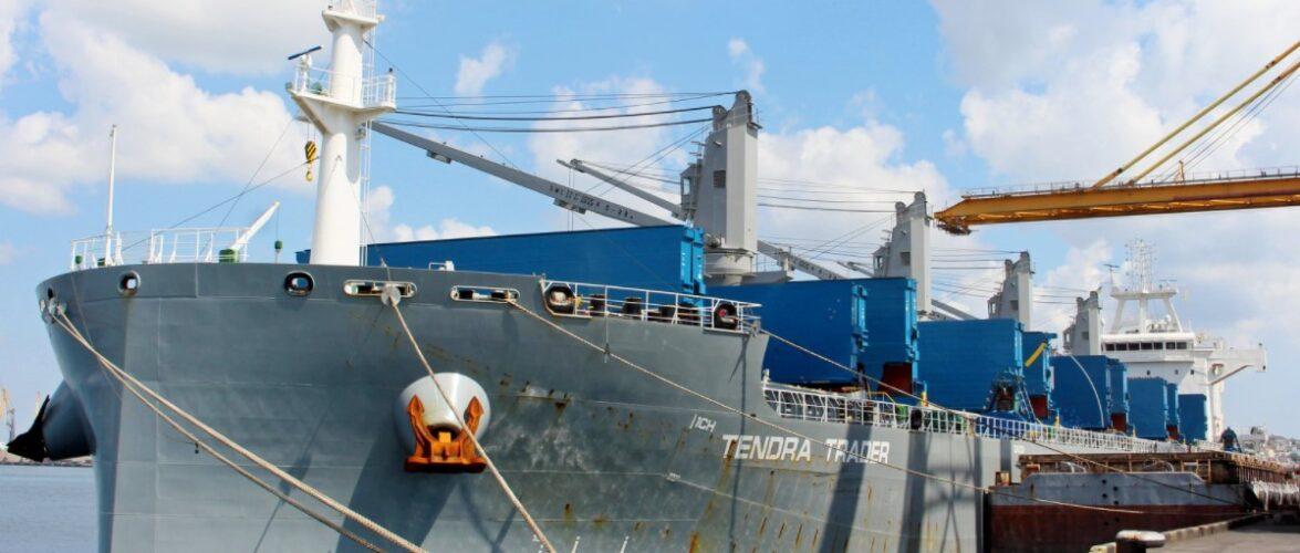 Морський порт Чорноморськ прийняв перший в цьому році балкер з вугіллям