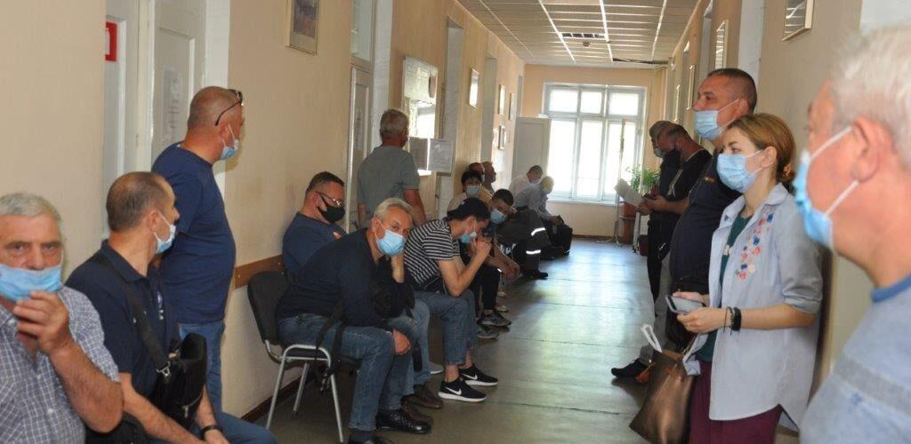 В Одеському морському порту відбувся перший етап вакцинації від COVID-19.
