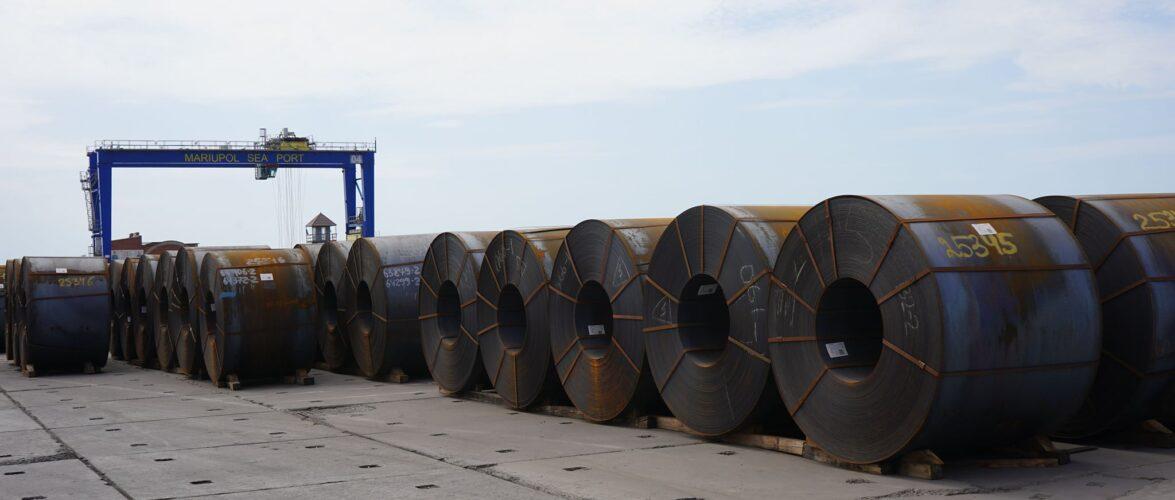 За підсумками травня Маріупольський порт переробив 600,6 тис. тонн вантажів