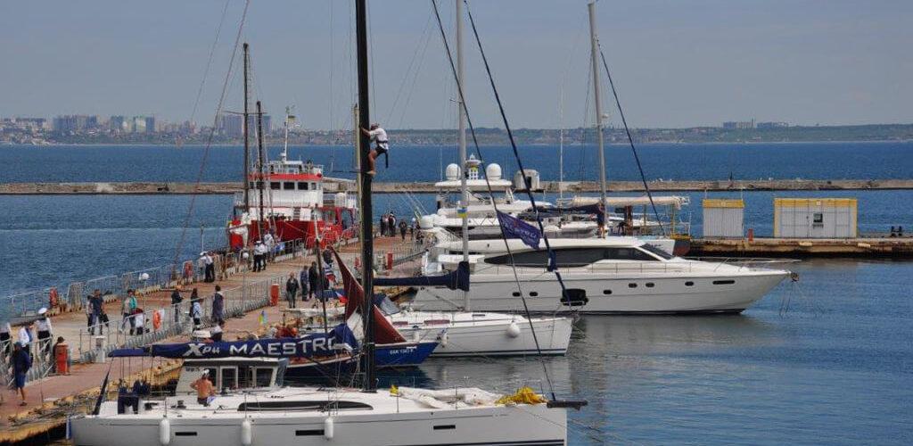 Перший міжнародний фестиваль яхт «Яхт-фест 2021» стартував в Одесі