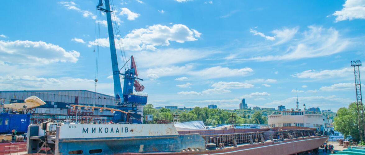 Київський суднобудівний-судноремонтний завод завершив ремонт трьох плавзасобів