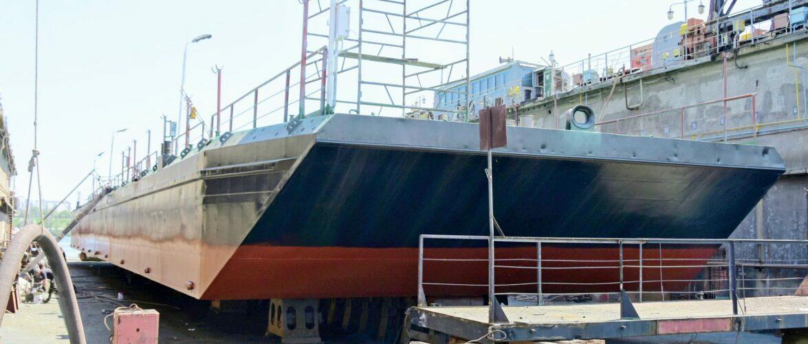 ПрАТ «ІСРЗ» завершив ремонт плавучого причалу «Понтон-2» для Адміністрації морських портів