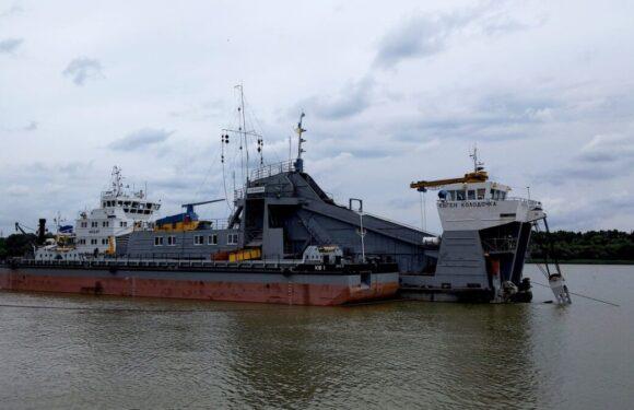 АМПУ розпочало експлуатаційне днопоглиблення в акваторії морського порту Ізмаїл