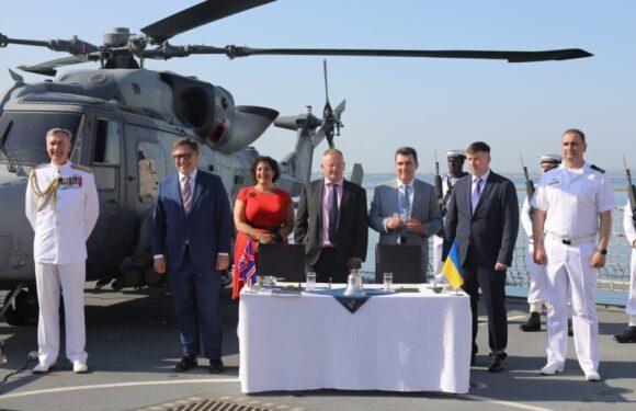 (Оновлюється) Консорціумом промисловості Великобританії та ВМС ЗСУ підписали Меморандум про реалізацію проєктів морського партнерства