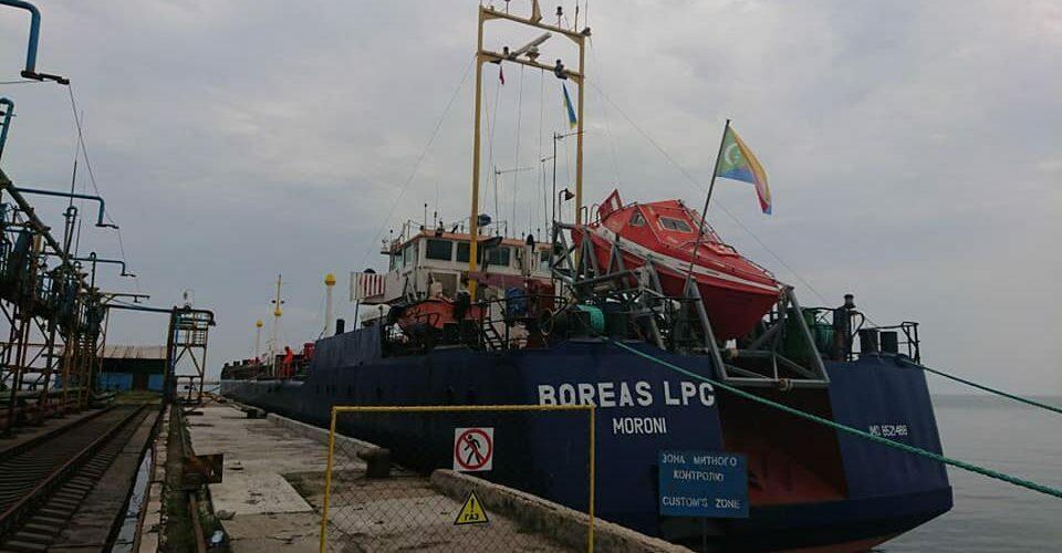Бердянський порт вперше в історії прийняв LPG-танкер