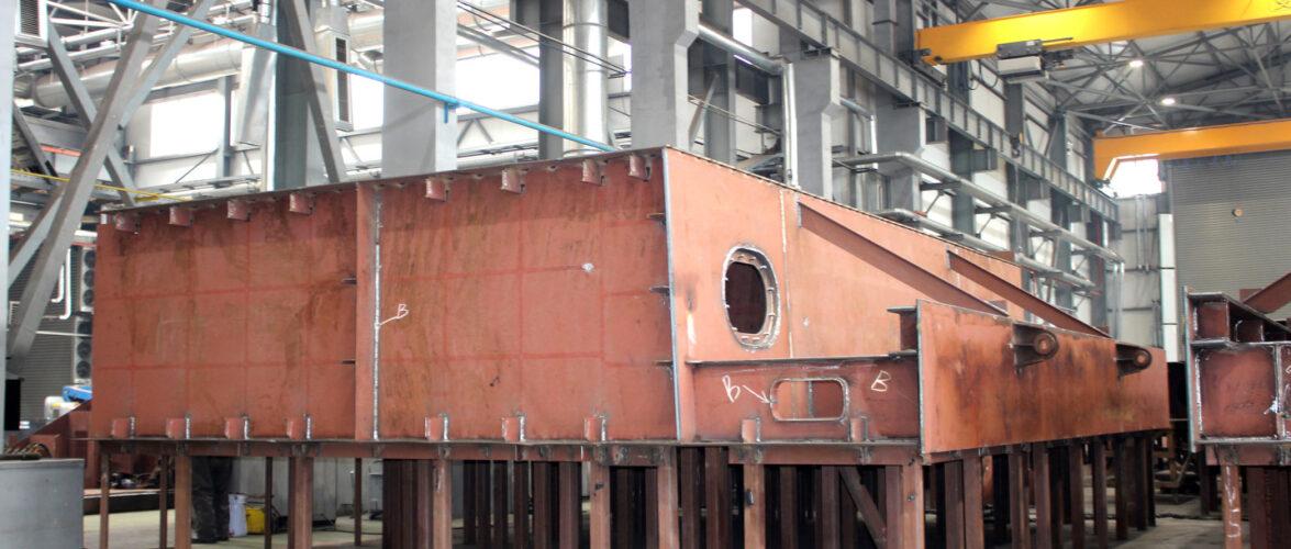 Суднобудівно-судноремонтний завод «НІБУЛОН» завершує корпус нового 100-метрового судна проєкту В5000М