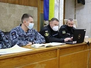 У ВМС ЗСУ триває плануванувальна конференція українсько-румунського навчання серії «Ріверіан»
