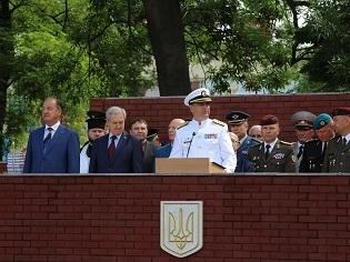 У Військовій Академії міста Одеса відбувся випуск офіцерів