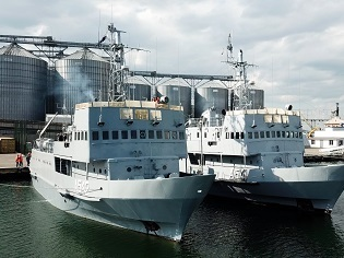 У курсантів 3-го курсу Інституту ВМС ОНМА розпочався катерний похід