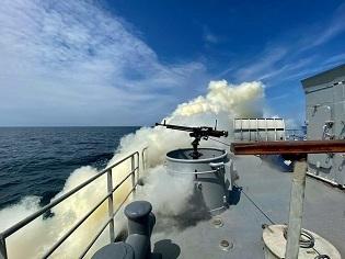 Українські ВМС відпрацьовують заходи з бойової підготовки в морі та на суходолі