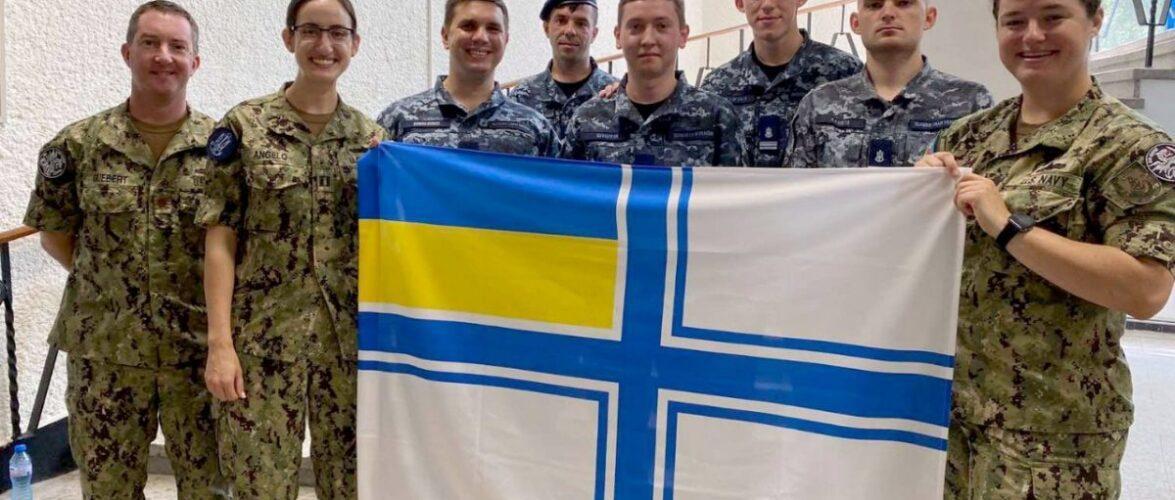 Українські моряки в Болгарії вдосконалювали навички управління кораблем за стандартами НАТО