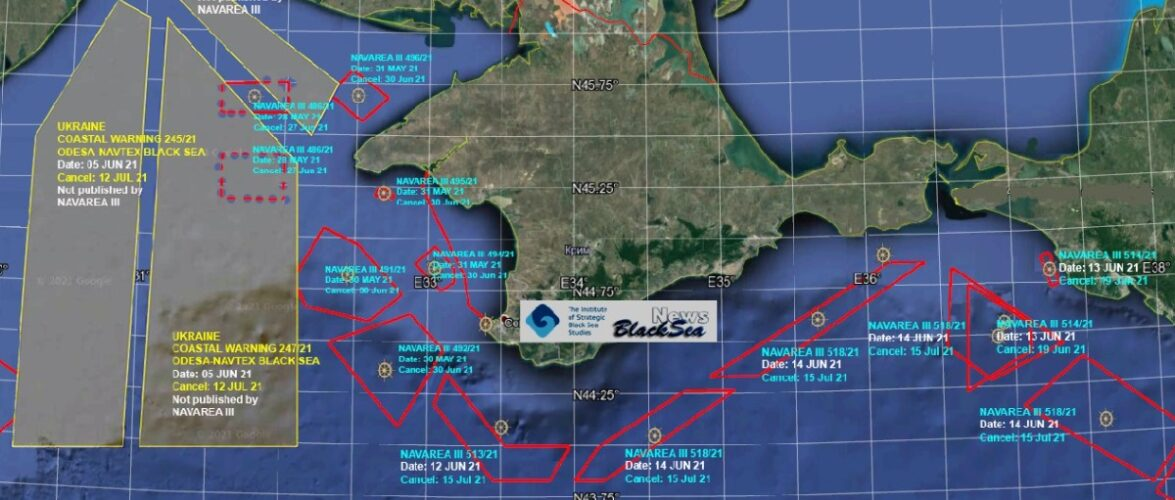 Навчання ВМФ РФ та навчання Sea Breeze 2021 проходитимуть в одних районах Чорного моря  – Андрій Клименко