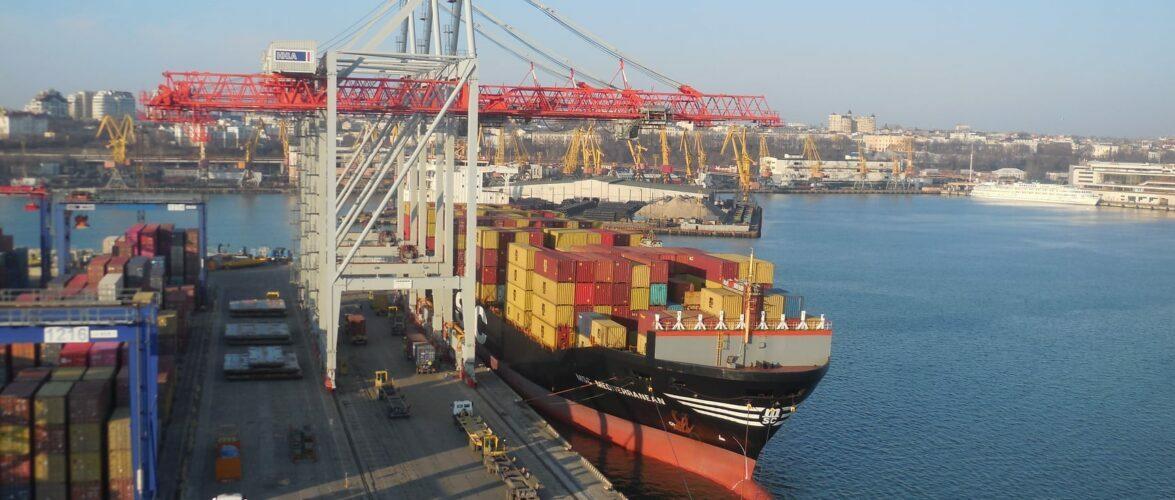 Обсяг перевалки контейнерів у Одеському порту збільшився на 4,5 % за результатами 6 місяців