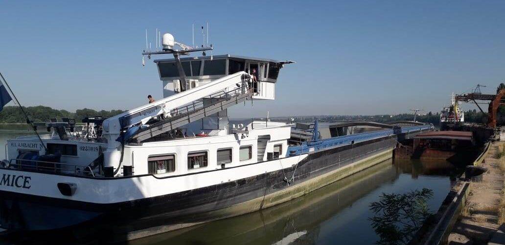 Ренійський порт вперше прийняв вантаж мінерального добрива з Голландії.
